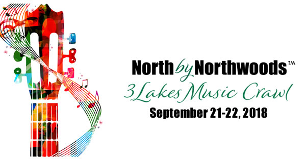Press Release: North by Northwoods: 3Lakes Music Crawl