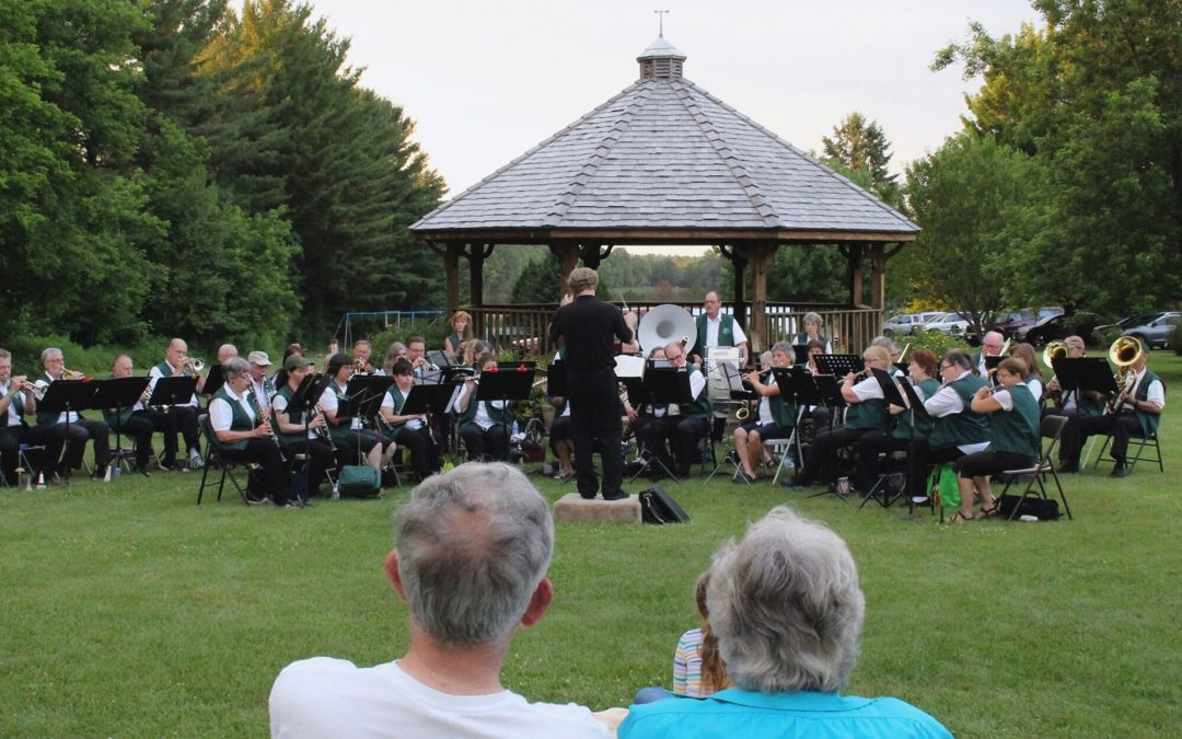 Rhinelander Area Community Band Concert in the Park
